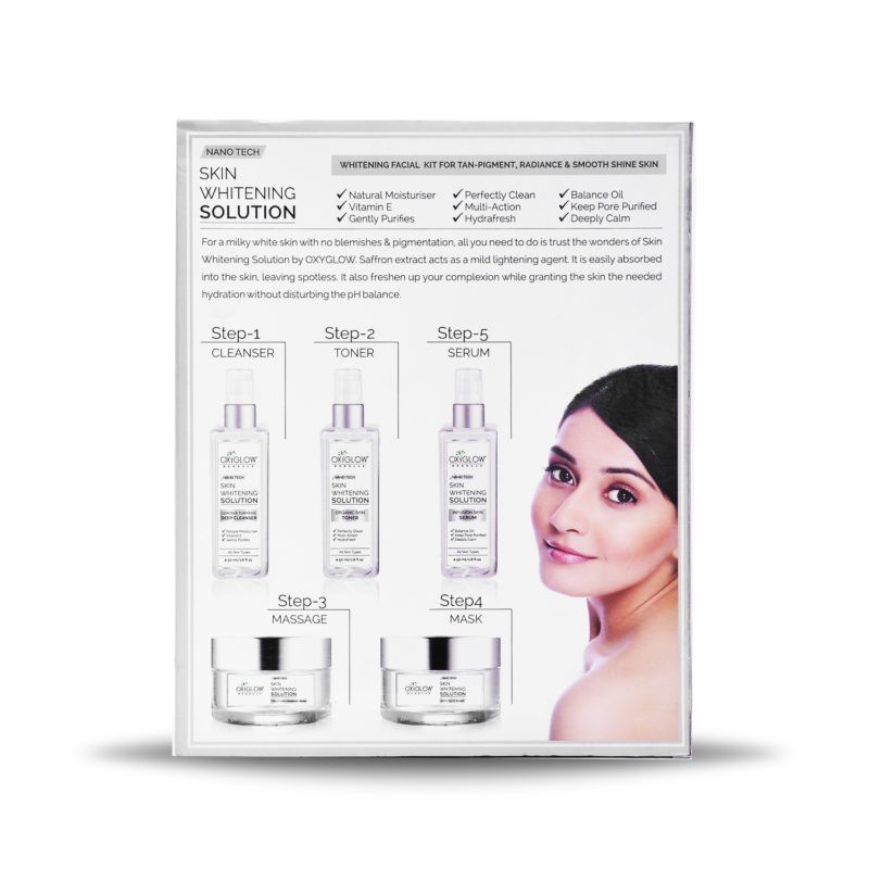 Nanotech Skin whitening Solution kit - 250 g