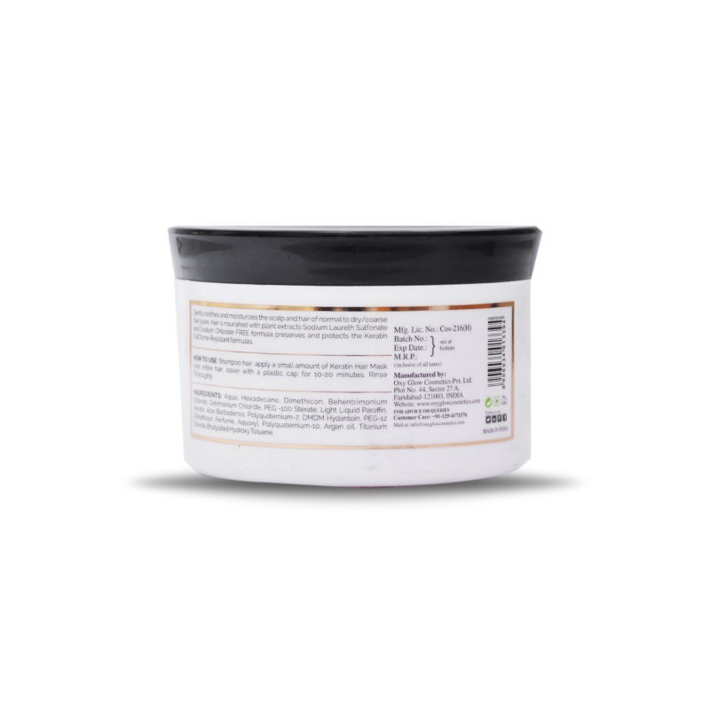 Keratin hair mask - 200 ml - 500gm