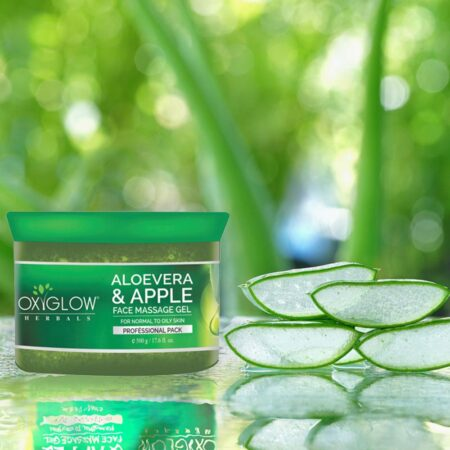 Aloevera Apple Face Massage Gel - 50 g