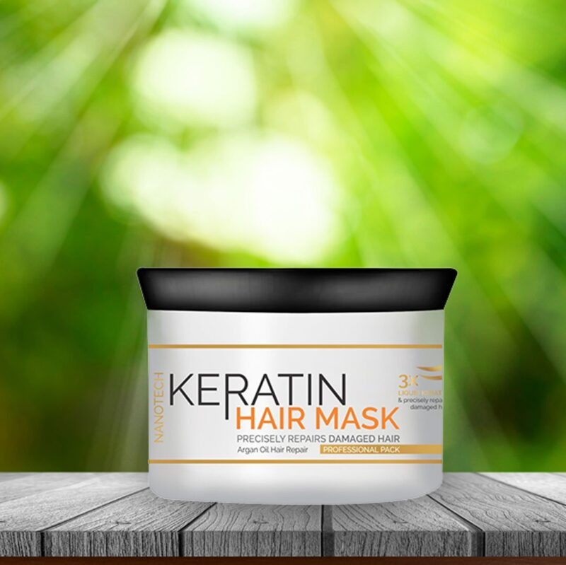 Keratin hair mask - 200 ml