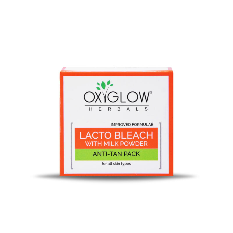 Oxyglow Herbals Lacto Bleach Cream - Anti-Tan Pack - 50gm